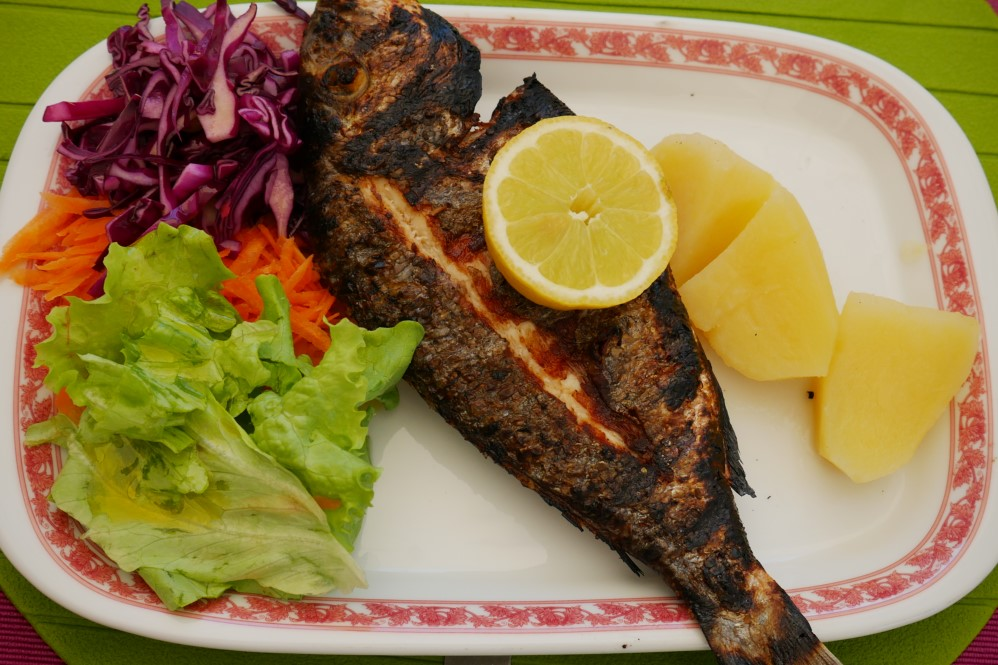 Grilled Robalo